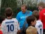 Johan Boskamp op bezoek oefenkamp