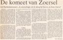 De komeet van Zoersel