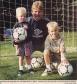 Met zoontjes Steve en Mitch