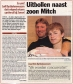 Uitbollen naast zoon Mitch