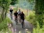 Mountainbiken rond het meer van Bütgenbach