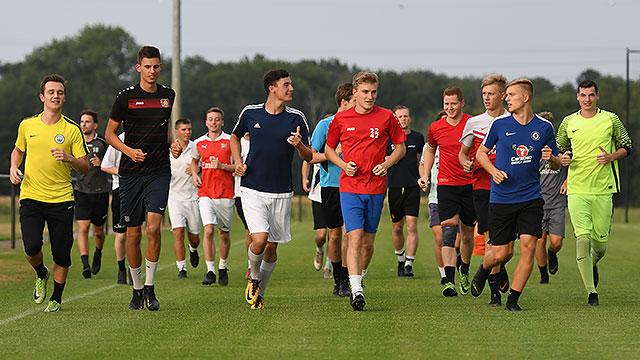 Eerste training seizoen 2019-2020